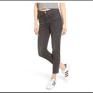 Levi's Wedgie Icon Fit High Waist Crop Jean